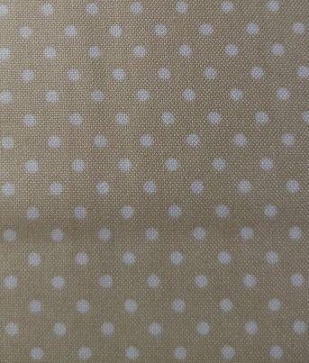 dots 3 = beige met witte stip