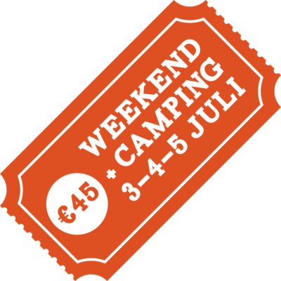 Weekendticket + Camping - Early Bird!