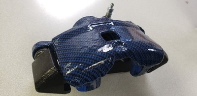 Hydro dipped calipers