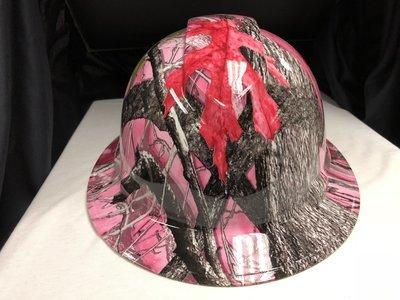 Full Brim Sassy B True Timber Hard Hat