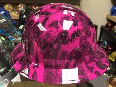 Full Brim Panther Pink Melting Skulls