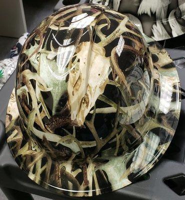 Full Brim Deer Skull camo