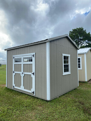 10' x 12' Utility Shed
