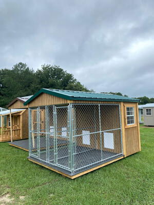 8' x 12' Double Dog Kennel