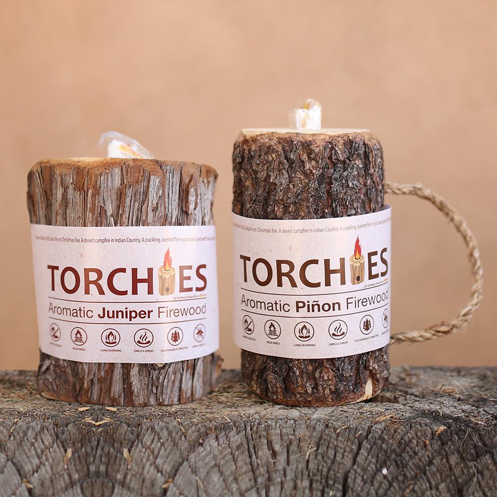 4 Pack Mixed Torchies™ Piñon & Juniper