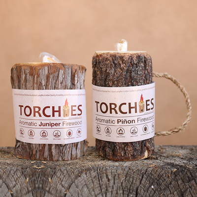 4 Pack Mixed Torchies™ Piñon & Juniper