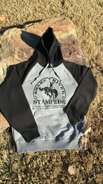 Sport-Tek® Raglan  Pullover Hooded Sweatshirt w/ SRS Logo