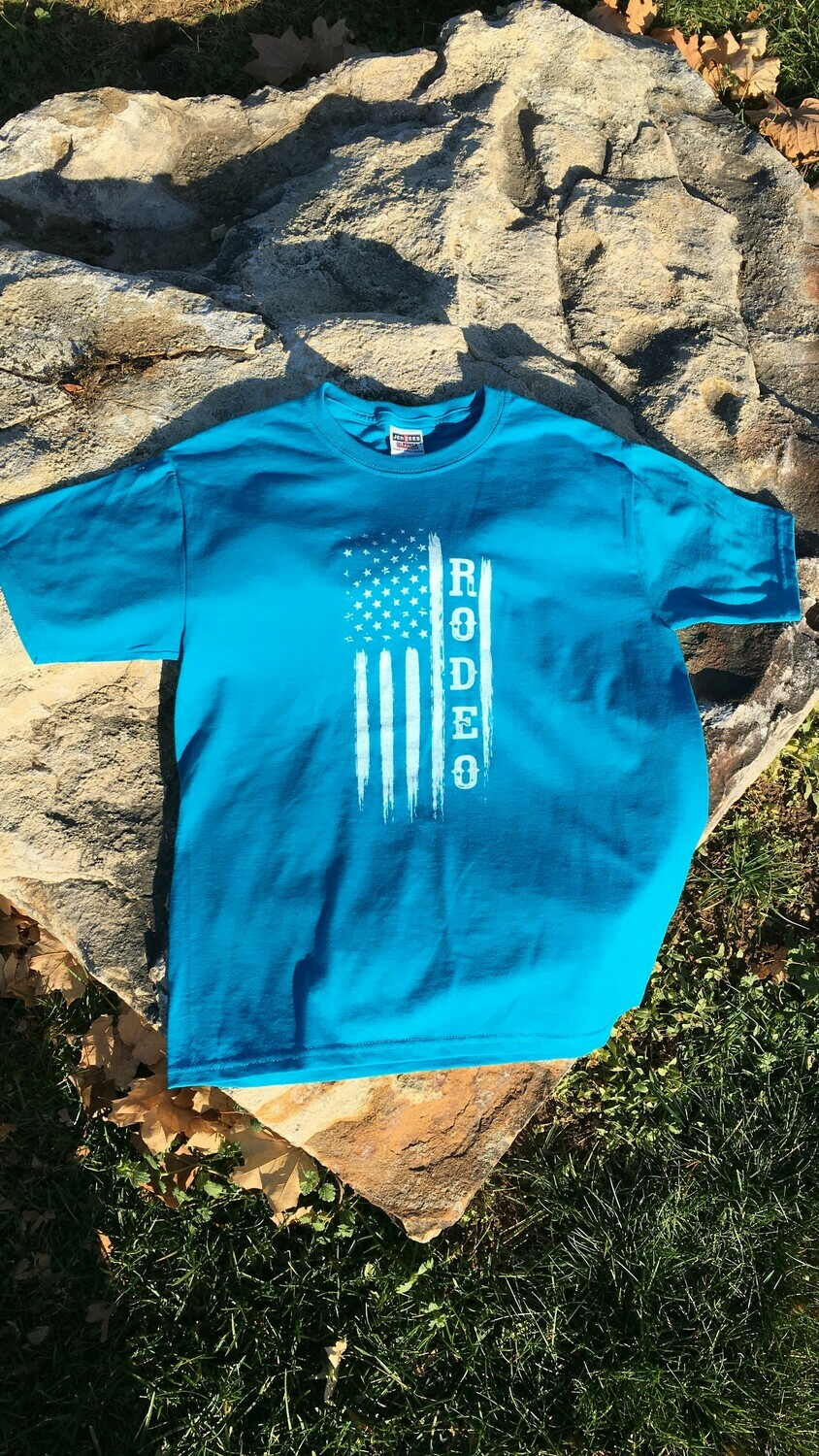 Youth - Flag/Rodeo T-Shirt