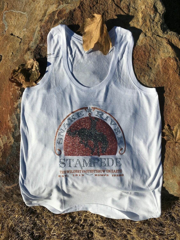 Snake River Stampede Racerback Tank Top