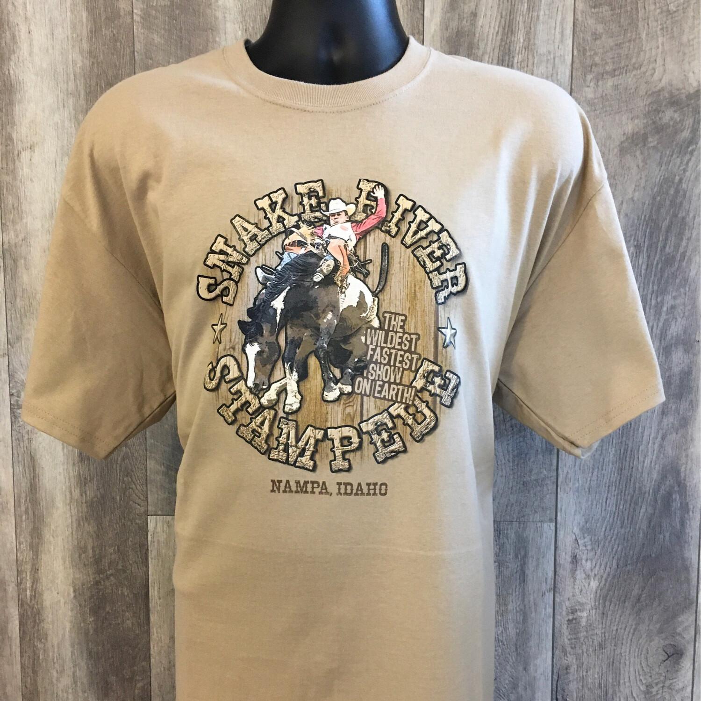 Men's SRS Bareback Riding Logo T-shirt
