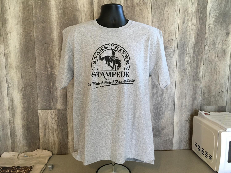 Men's Snake River Stampede logo T-shirt