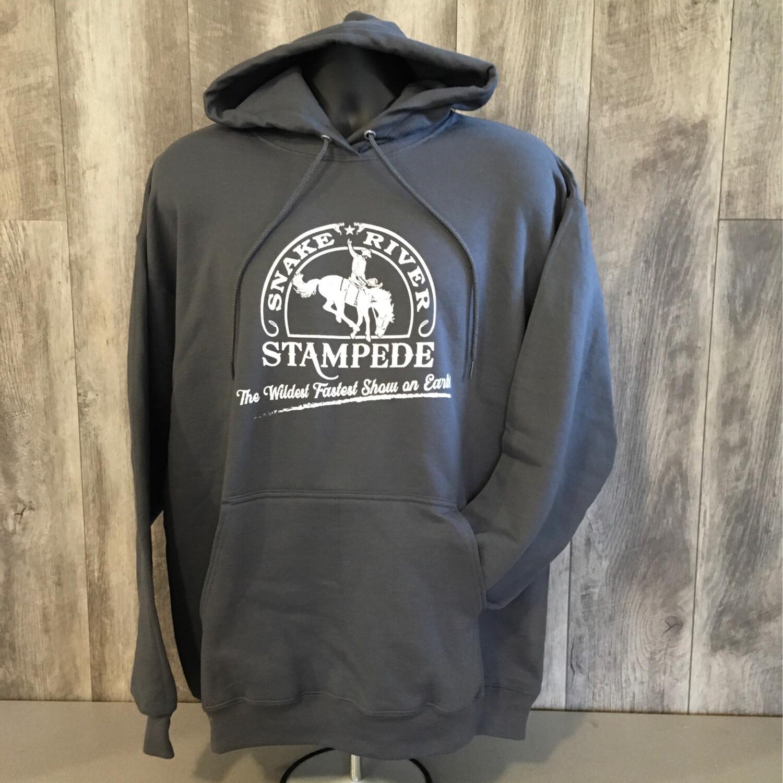 Fleece Hoodie With Snake River Stampede Logo
