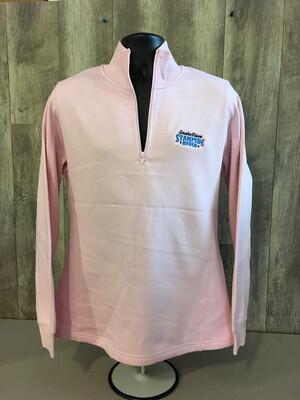 Women's Ladies 1/4 Zip Sweatshirt with SRS Embroidered Logo