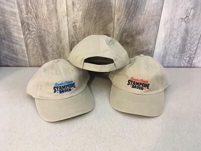 Khaki Brushed Twill SRS Embroidered Cap