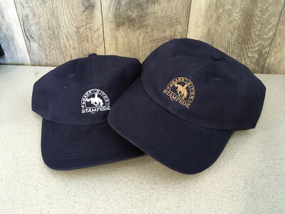 Navy Brushed Twill SRS Logo Embroidered Cap