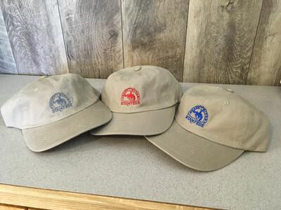 Khaki Brushed Twill SRS Logo Embroidered Cap
