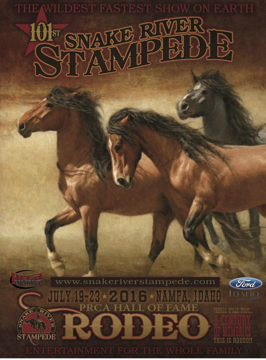2016 OFFICIAL RODEO POSTER