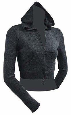 Ladies crop FYLG logo hoodie