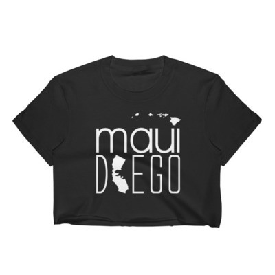 Maui Diego Wahine Crop Top