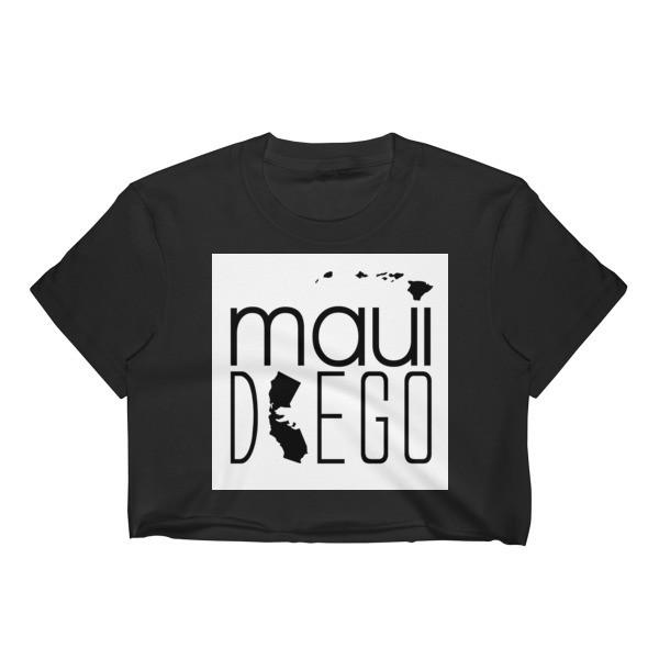 Maui Diego Block Wahine Crop Top