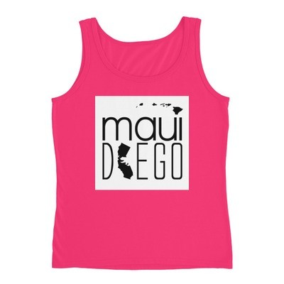 Maui Diego Wahine Block Tank