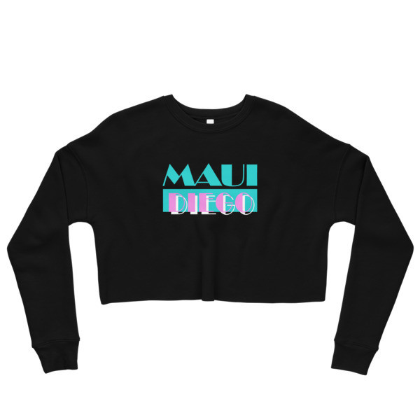 Maui Diego Vice Wahine Crop Sweatshirt