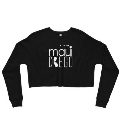 Maui Diego Wahine Crop Sweatshirt