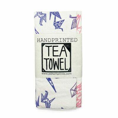 Tea Towel, Cotton Paper Crane (A. Sham)
