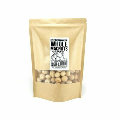 Macadamia Nuts, Unsalted (16 oz)