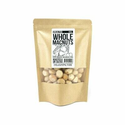 Macadamia Nuts, Unsalted (8 oz)