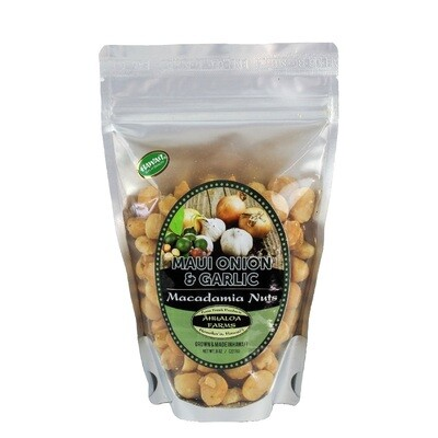 Macadamia Nuts, Maui Onion & Garlic (Ahualoa Farms)
