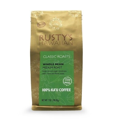 Rusty's Ka'u Coffee, 7 oz (Medium) | Big Island