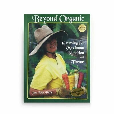 Book, Beyond Organic