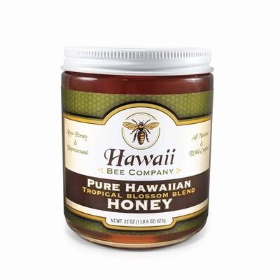 Honey, Hawaii Bee Co. (22 oz.)   Ka'u