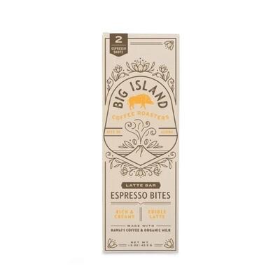 Big Island Coffee Roasters, Espresso Bites - Latte (1.5 Oz.)