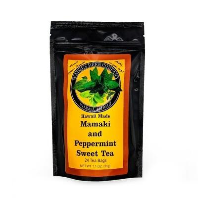 Waimea Herb Company, Mamaki Peppermint Sweet Tea (24 teabags)