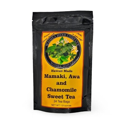 Waimea Herb Company, Mamaki Awa & Chamomile Sweet Tea (24 Teabags)