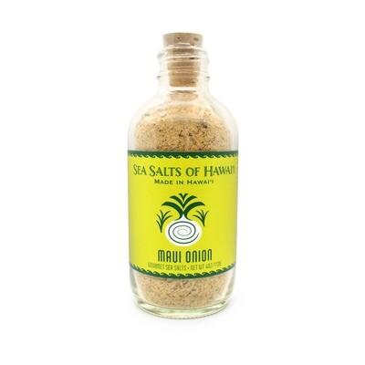 Sea Salts of Hawaii, Sea Salt Bottle - Maui Onion (4 Oz.)