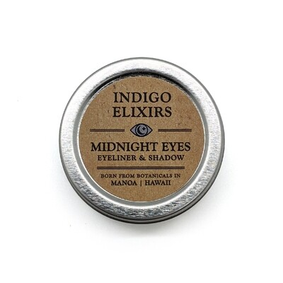 Indigo Elixirs, Midnight Eyes - Eye Shadow (0.5 Oz.)