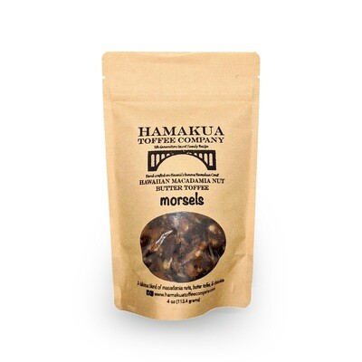 Hamakua Toffee Company, Macadamia Nut Toffee Morsels (4 Oz.)