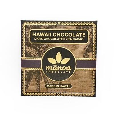 Manoa Chocolate, 70% Dark Chocolate Bar (0.7 Oz.)