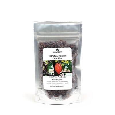 Hawaiian Crown, Cacao Nibs (1.8 Oz.)