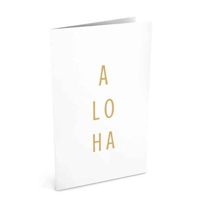 Card, Aloha - Stacked (Localicreative)