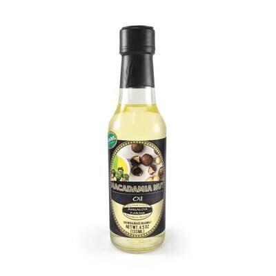 Oils, Ahualoa Farms - Macadamia Nut Oil (4.5 Oz.)