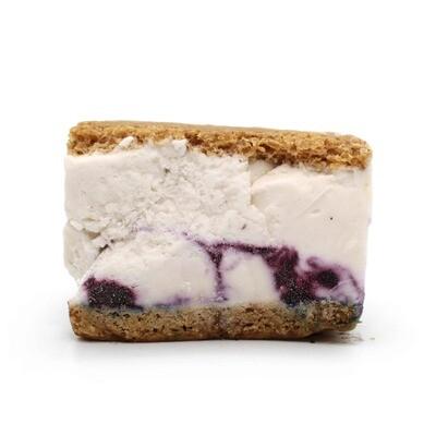 Gelato Ono, Blueberry Dairy-Free Ice Cream Sandwich