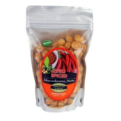 Macadamia Nuts, Ahualoa Farms - Spice Chili 8 Oz.)