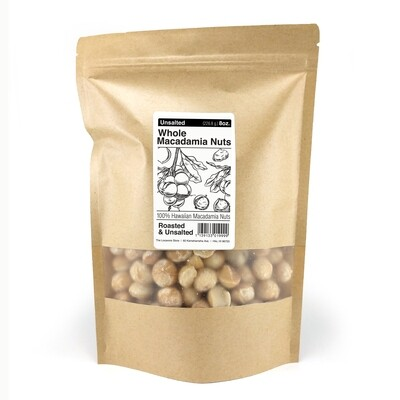 Macadamia Nuts, The Locavore Store - Unsalted (16 Oz.)