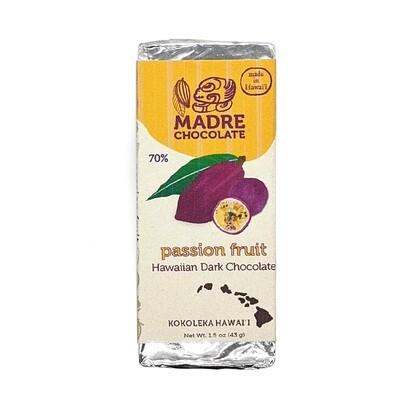 Madre Chocolate, 70% Passion Fruit Chocolate Bar (1.5 Oz.)