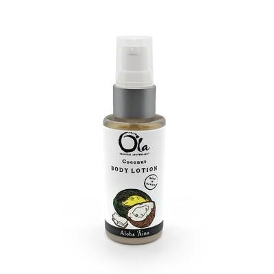 Ola Tropical Apothecary, Coconut Body Lotion (2 Oz.)