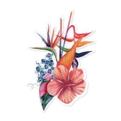 Sticker, Ashley Kaase - Botanical Blend Die Cut Vinyl Sticker